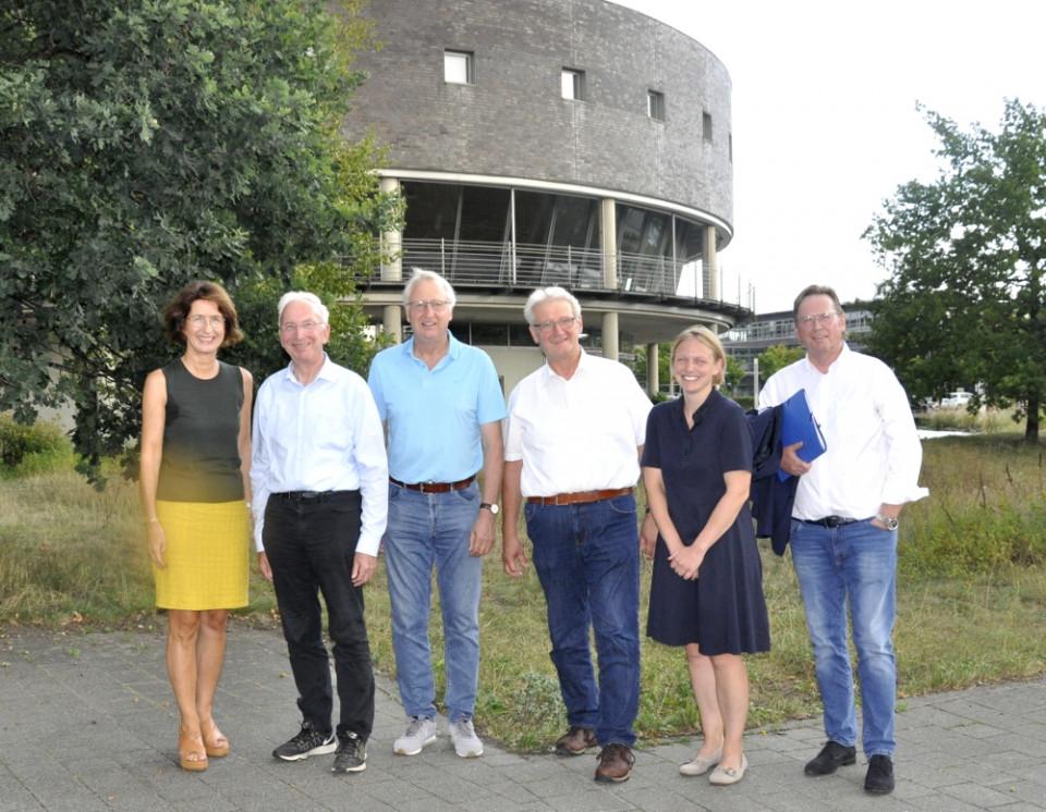Wollen den partnerschaftlichen Umweltschutz weiter vorantreiben (v.l.): Dr. Christine Disselkamp, Arnold Weßling, Helmut Kaltefleiter, Dr. Heinrich Josef Sökeland, Helen Wiesner und Klaus Dirks.