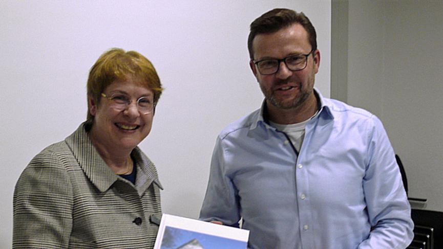 Dr. Anne Bunte und Raphael Tigges