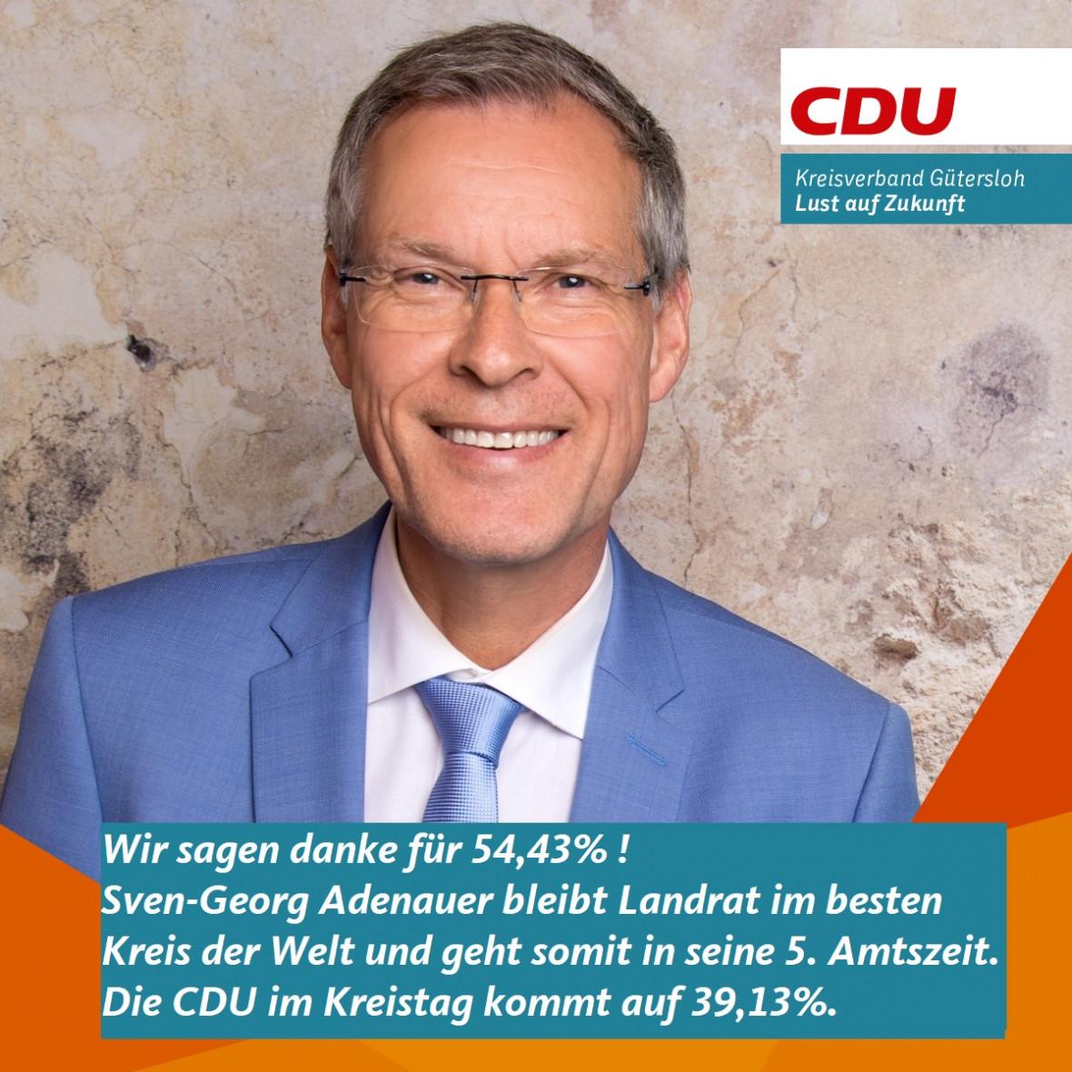 Adenauer im ersten Wahlgang gewählt