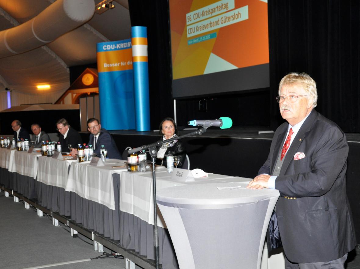 56. Kreisparteitag: CDU wählt Delegierte
