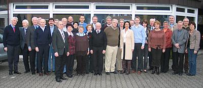 Die CDU-Kreistagsfraktion mit ihren Gästen bei ihrer Klausurtagung in Oelde-Lette.