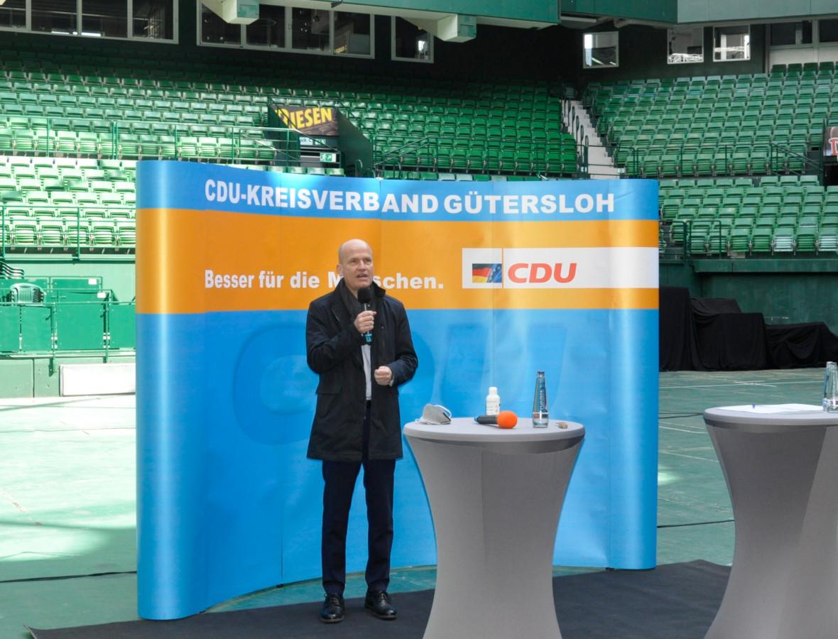 CDU wählt Ralph Brinkhaus erneut zum Bundestagskandidaten