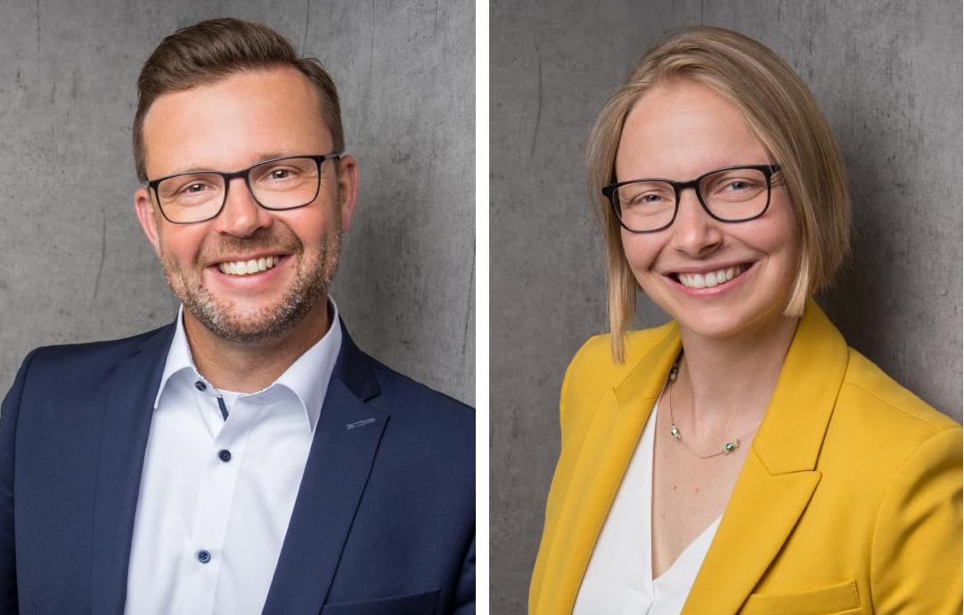 Raphael Tigges MdL und Helen Wiesner.
