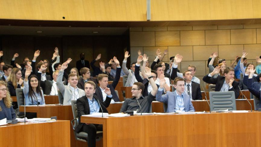 Jugend-Landtag 2021: Drei Tage Politik hautnah erleben