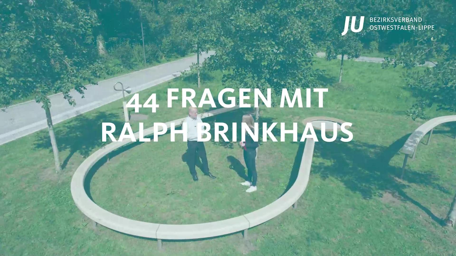 44 Fragen mit Ralph Brinkhaus