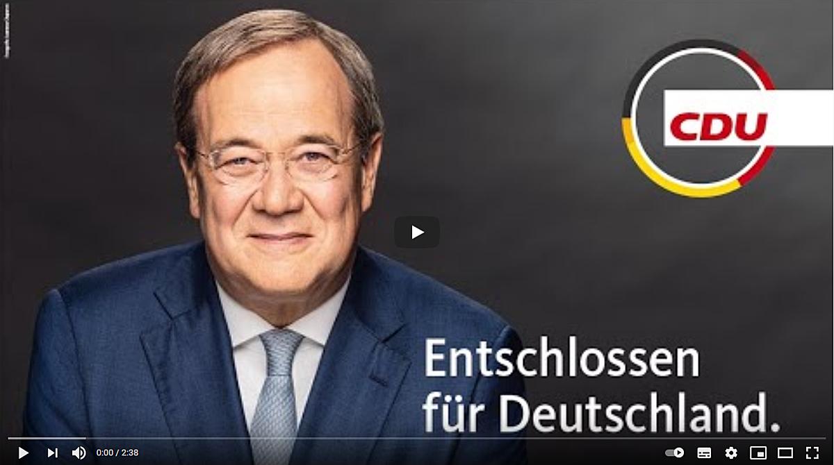 Wahlaufruf unseres Kanzlerkandidaten Armin Laschet