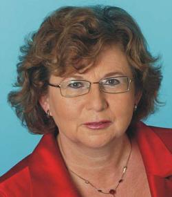 Die Landtagsabgeordnete Ursula Doppmeier hat sich persönlich für die Hauptschule in Harsewinkel eingesetzt.