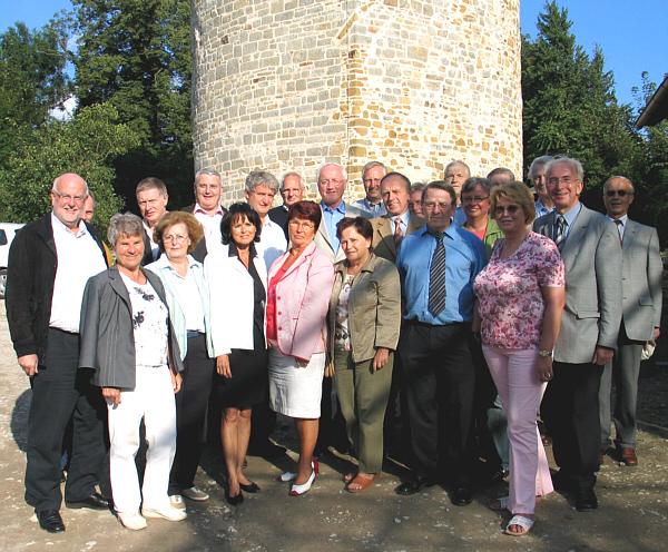 Besuchten die Burg Ravensberg: Die CDU-Kreistagsfraktion und der CDU-Fraktionsvorstand von Borgholzhausen.