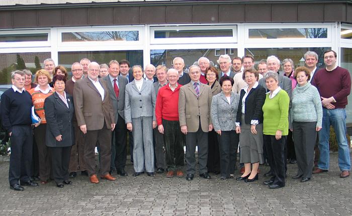 Die CDU-Kreistagsfraktion auf ihrer Klausurtagung in Lette.