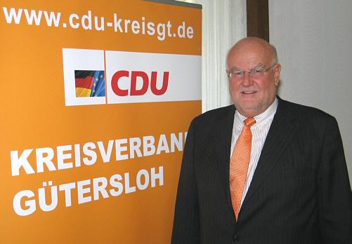 Tritt zur Wahl als Bundestagskandidat an: Der CDU-Kreisvorsitzende Ludger Kaup.