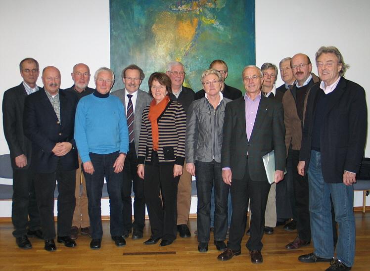 """Der kommunalpolitische Arbeitskreis """"Bauen, Planen und Umwelt"""" im Kreishaus in Wiedenbrück."""