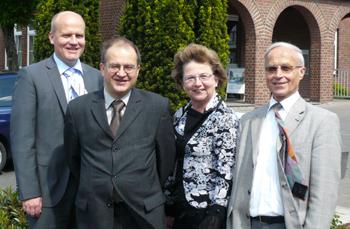 Ralph Brinkhaus, Arnold Vaatz MdL, Ursula Doppmeier MdL, Dr. Siegfried Kosubek