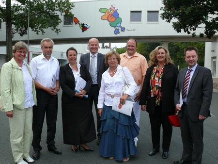 CDU-Delegation zu Gast bei Firma Wiltmann in Versmold-Peckeloh