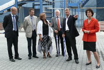 v. l. Ralph Brinkhaus, Friedhelm Thüte, Ursula Doppmeier MdL, Hubert Deittert MdB, Bernhard Reiling, Marie-Luise Dött MdB