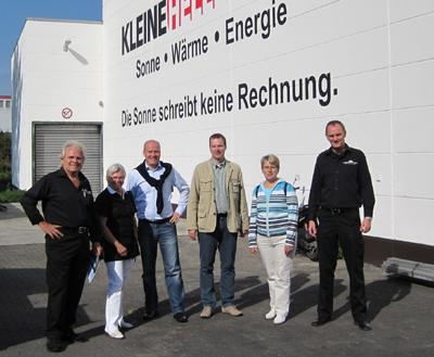 v.l.: Reinhold Kleinehelleforth, Gertrud Buschmann, Ralph Brinkhaus, Matthias Humpert, Annette Kappelmann, Maik Kleinehelleforth