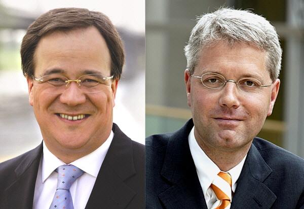 Armin Laschet MdL (l.) und Dr. Norbert Röttgen MdB