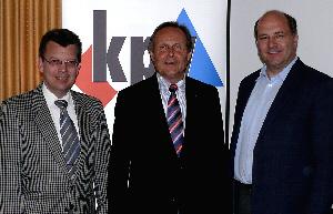 v. l. Peter-Heinz Woste, Meinolf Päsch, Hubert Erichlandwehr