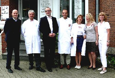 Ralph Brinkhaus MdB, Dr. Heinz-Josef Sökeland, Jens Spahn MdB, Dr. Thomas Waltermann, Eva Appelhans-Schröder, Dr. Britta Hartmann, Gabriele Becker