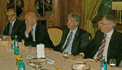 Burkhard Marcinkowski, Ralph Brinkhaus, Dr. Ernst Wolf, Peter Hintze