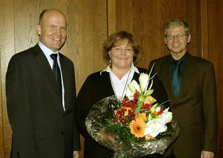 CDU-Kreisvorsitzender Ralph Brinkhaus, Monika Krause, Hubert Kleinemeier