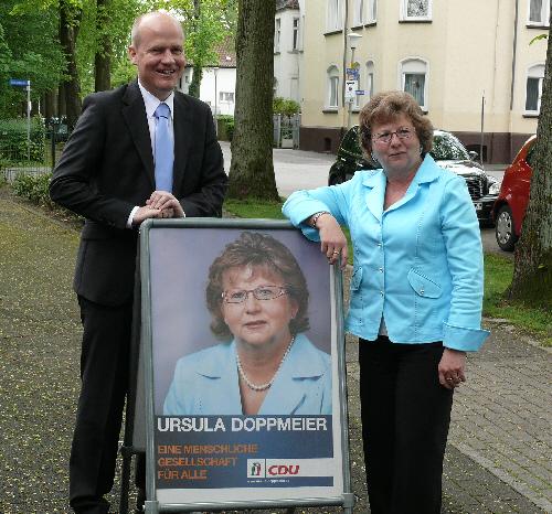 Ralph Brinkhaus MdB und Ursula Doppmeier