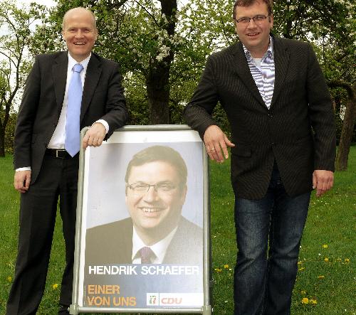 Ralph Brinkhaus MdB und Hendrik Schaefer