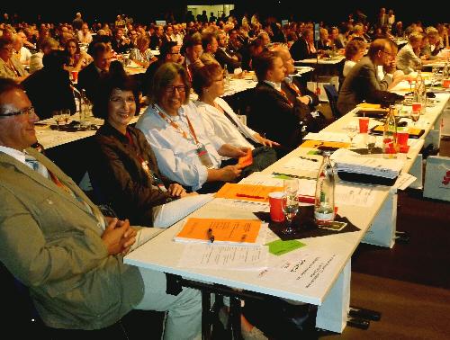 Die Delegation des CDU-Kreisverbands Gütersloh auf dem Landesparteitag