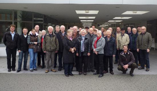 Zahlreiche Interessenten folgten der Einladung des MIT-Kreisverbands Gütersloh zu einer Besichtung des VW-Werkes in Wolfsburg