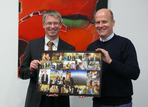 Verabschiedung von Dr. Michael Brinkmeier (links) durch CDU-Kreisvorsitzenden Ralph Brinkhaus MdB