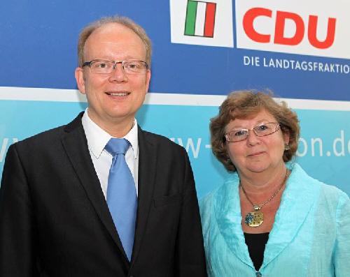 André Kuper MdL und Ursula Doppmeier MdL