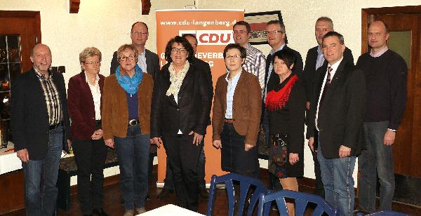 Die Langenberger Kandidaten und Kandidatinnen für die Kommunalwahl