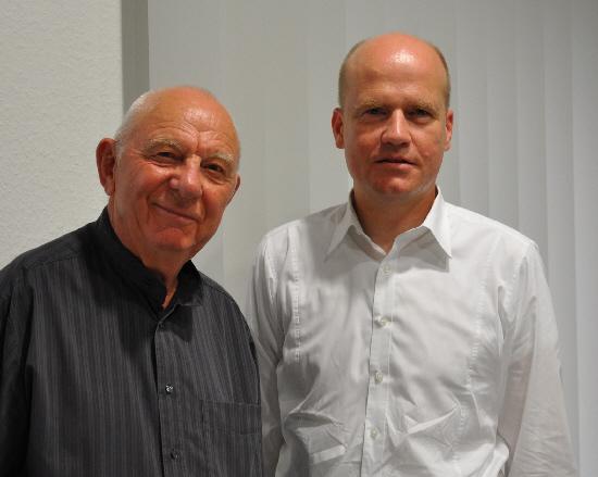 Benjamin Besler und der CDU-Kreisvorsitzende Ralph Brinkhaus MdB
