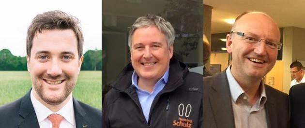 v. l.: Marco Diethelm, Henning Schulz, Michael Esken
