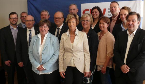 Die Mannschaft der CDU OWL für die Landtagswahl 2017