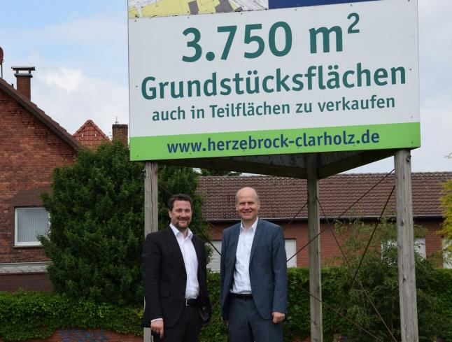 Bürgermeister Marco Diethelm und Ralph Brinkhaus MdB