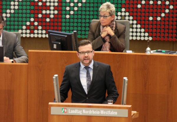 Raphael Tigges MdL im Landtag NRW