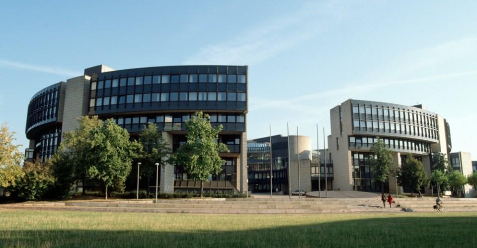 Der nordrhein-westfälische Landtag in Düsseldorf